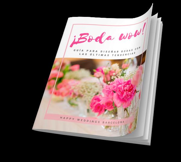 guía tendencias bodas