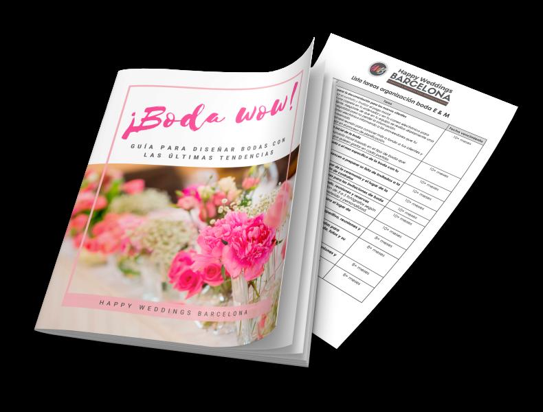 guía decoración bodas